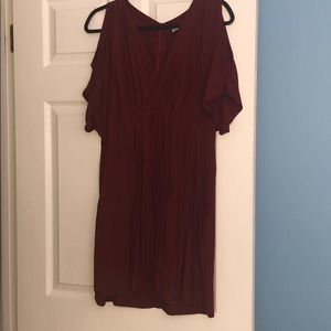 Lush red dress